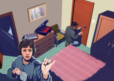 Hotel Room Forensics