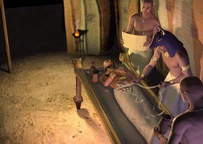 Mummy Embalming