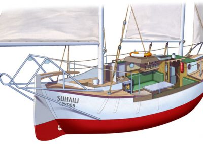 Robin Knox Johnston-Suhaili
