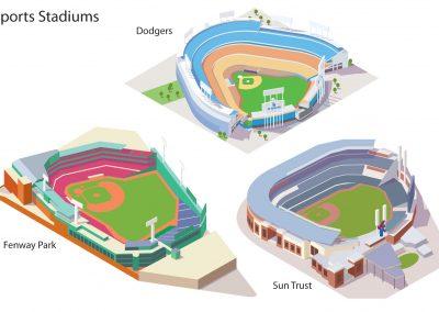 Sports Stadiums 3